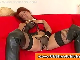older male gang-bangs redhead inside nylons and