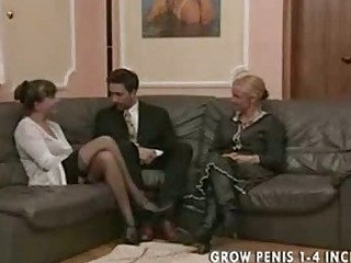 elderly and mature babe into nylons pierce part1