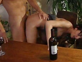 drunken cougar hoes licking libido