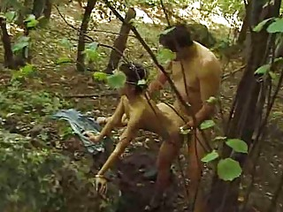 handjob into the middle of the forest