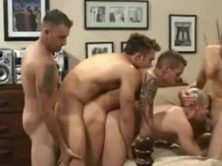 gay bare back group fuck