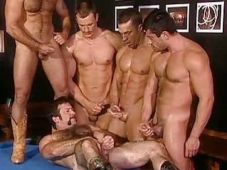 difficult bunch  group sex with slutty gay hunks