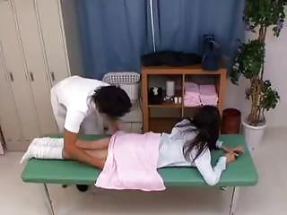 perverted nurse uses fresh patient