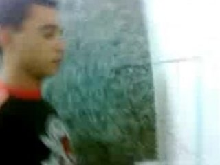 handjob at the urinal for a straight guy
