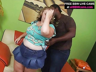 bleached shocking bbw licks and bangs brown male