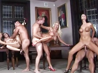 two by two horny hotties inside high shoes having