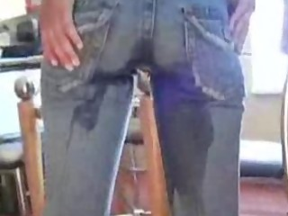alex wetting jeans