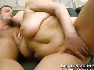 bbw cougar threesome part2