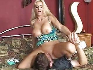desperate pale momma rhyse richardson slides a