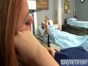 Sexy Pacient Banged Hard In Doctor Office clip-36