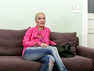 fake casting agent copulates blonde