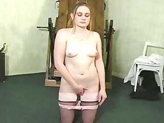 slave hogtied inside her panties