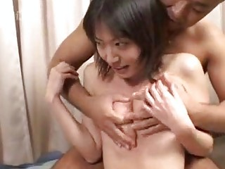 a beautiful japanese having porn