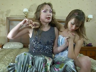 rough arse amateur lezzie and her awesome momma