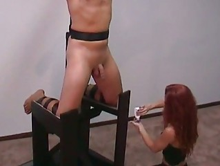 brandie may femdom handjob