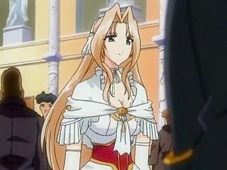 stunning hentai princess doing dick sucking