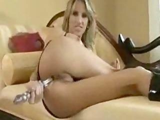 weird vibrator into ass