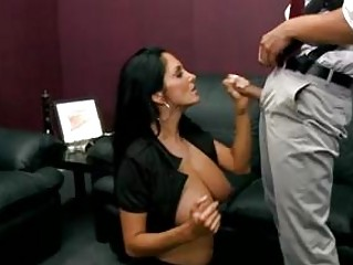 celebrity ava addams obtains her oral attacked by