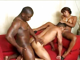 bisexual dudes nailing awesome babe