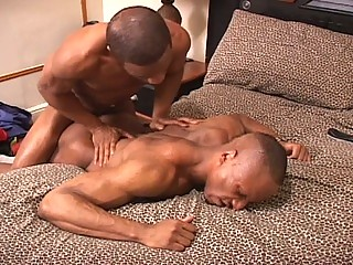 two bodybuilder gay guys with go