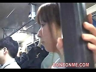 young slut dick sucking to geek on bus 02