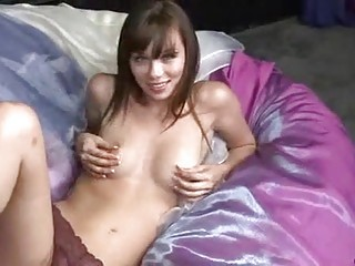 alexa capri solo masturbation with sex toy and