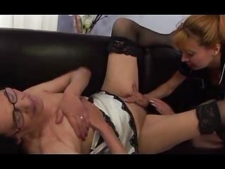 grandma and her amateur feminine fucker