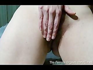 sopping juicy and hairy self filmed orgasms