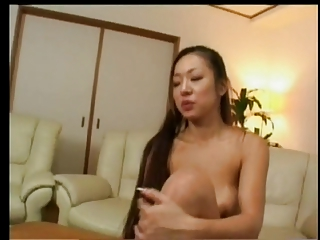 Young Japanese Girl Dance, Strip &; Masturbate