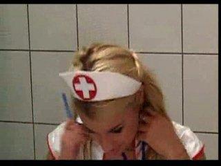 nurses give a tiny jumbo