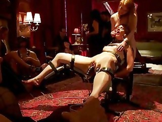 super pretty chick punished and drilled
