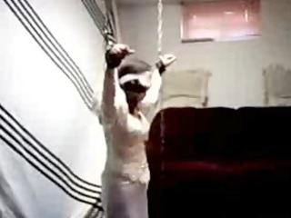 wedding skirt bondage and bj