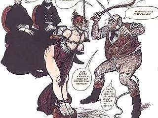 vintage boobs like bondage comic