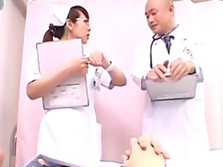 moveless doctor getting her oral gang-banged by