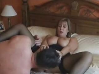 european woman inside nylons piercing