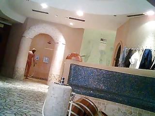 sauna bath voyeur interracial nude