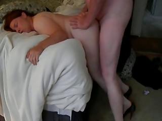 daughter inside bedroom