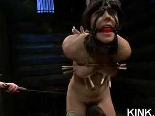 gorgeous super angel takes punished and drilled
