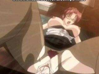 hentai assistant gangbanged on the desk