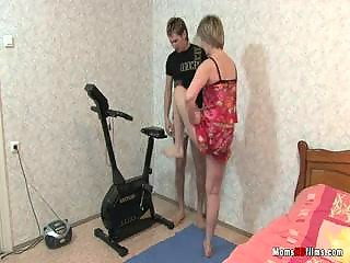 fitness trainer for elderly milfs