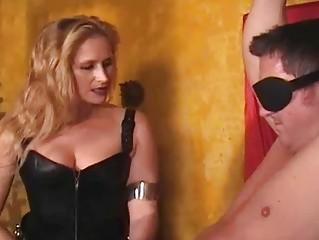 manhandled womans tits