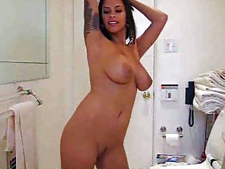 sweet slutty latin gives other lap dance