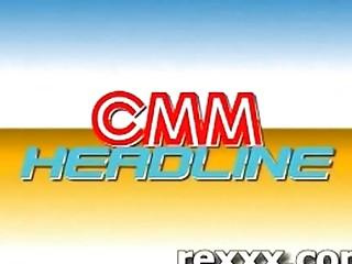 news reporter acquires bukakke during her job mia