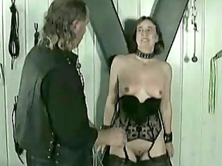 older  slave acquires hits on her kitty and
