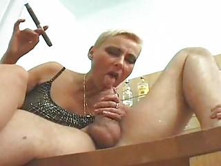 smoking grownup albino 35