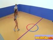 Sporty Hot Girls Get Fucked Hardcore movie-28