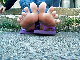 ff24 bbw greek unpolished toes