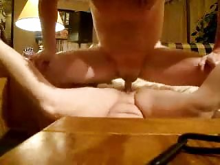 my lady demonstrates sperm after i drilled her