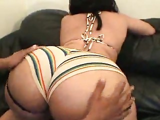 awesome bbw babe acquires brutally banged on the