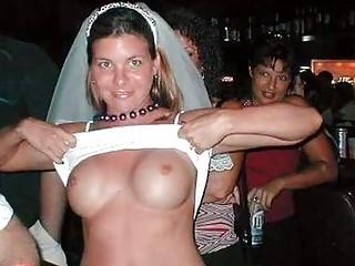 exhibitionist brides!